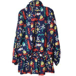 Vtg 90s Lily's of Beverly Hills Jacket & Skirt M